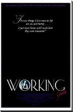 Working Girls art print poster with block mounting