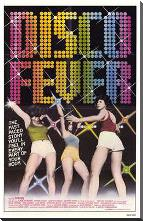 Disco Fever art print poster with block mounting