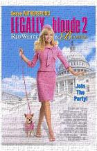 Legally Blonde 2: Red, White Blonde art print poster transferred to canvas