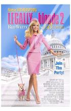 Legally Blonde 2: Red, White Blonde art print poster with laminate