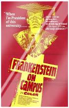 Doctor Frankenstein on Campus art print poster with laminate