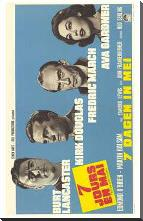 Seven Days in May art print poster with block mounting