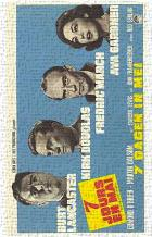 Seven Days in May art print poster transferred to canvas
