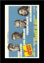 Seven Days in May art print poster with simple frame