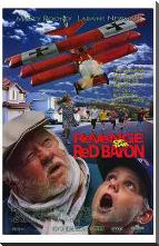 Revenge of the Red Baron art print poster with block mounting