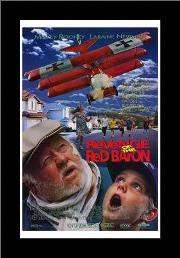 Revenge of the Red Baron art print poster with simple frame