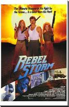 Rebel Storm art print poster with block mounting