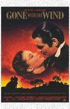 Gone with the Wind art print poster transferred to canvas