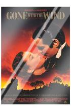 Gone with the Wind art print poster with laminate