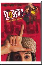 Loser art print poster with block mounting