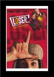 Loser art print poster with simple frame