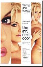 Girl Next Door art print poster with block mounting