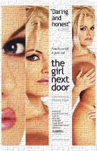 Girl Next Door art print poster transferred to canvas