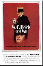 W C Fields and Me art print poster with block mounting