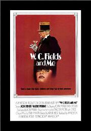 W C Fields and Me art print poster with simple frame