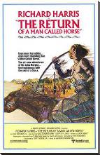 Return of a Man Called Horse, the art print poster with block mounting