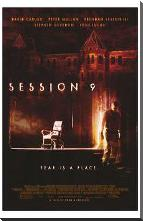 Session 9 art print poster with block mounting
