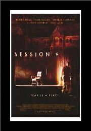 Session 9 art print poster with simple frame
