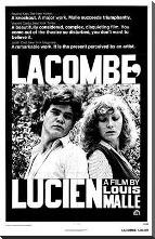Lacombe Lucien art print poster with block mounting