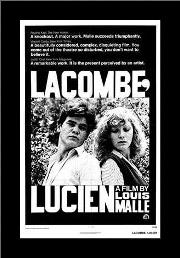 Lacombe Lucien art print poster with simple frame