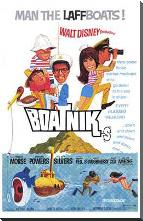 Boatniks art print poster with block mounting