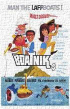 Boatniks art print poster transferred to canvas