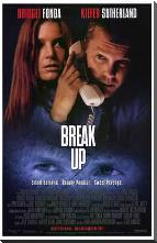 Break Up art print poster with block mounting