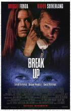 Break Up art print poster transferred to canvas
