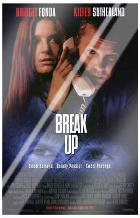 Break Up art print poster with laminate