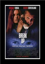 Break Up art print poster with simple frame