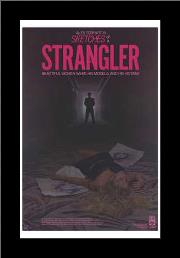 Sketches of a Strangler art print poster with simple frame