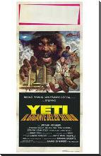 Yeti: the Giant of the 20Th Century art print poster with block mounting
