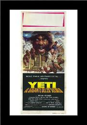 Yeti: the Giant of the 20Th Century art print poster with simple frame
