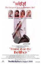 Blame it on the Bellboy art print poster with laminate