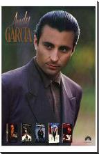 Andy Garcia art print poster with block mounting