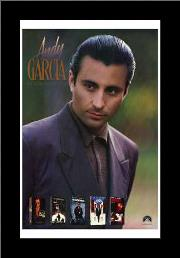 Andy Garcia art print poster with simple frame