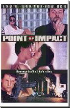 Point of Impact art print poster with block mounting