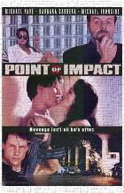 Point of Impact art print poster transferred to canvas