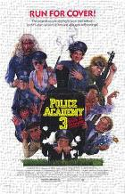 Police Academy 3 Back in Training art print poster transferred to canvas