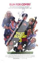 Police Academy 3 Back in Training art print poster with laminate