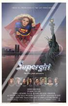 Supergirl art print poster with laminate