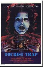 Tourist Trap art print poster with block mounting