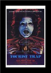 Tourist Trap art print poster with simple frame