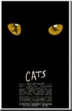 Cats (Broadway Musical) art print poster with block mounting