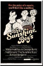 Sunshine Boys, the art print poster with block mounting