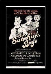 Sunshine Boys, the art print poster with simple frame