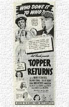Topper Returns art print poster transferred to canvas