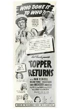 Topper Returns art print poster with laminate