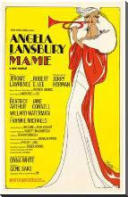 Mame (Broadway Musical) art print poster with block mounting