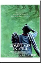 Sometimes in April art print poster with block mounting